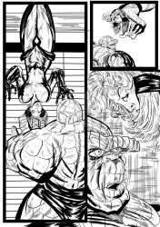Fantastic Four Sequential Sample artwork page 6 by brianrobinson
