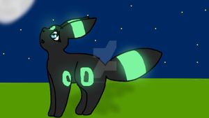 umbreon by Bindiluckycat