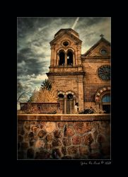 St Francis Assisi in Santa Fe by kkart