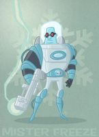 Mister Freeze by tyrannus