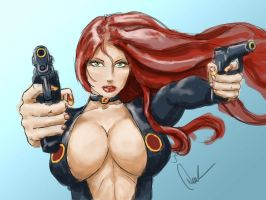 Tits N Guns by DerekTall