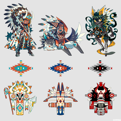 Totems by edrw