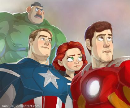 Andy's Avengers by rain1940