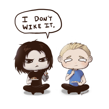 Bucky Don't Wike It by Batwynn