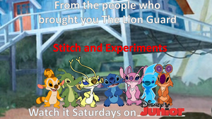 Stitch and Experiments Poster by DEEcat98