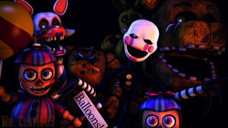 [SFM/FNAF] The FNAF 2 Cast Part 3 by MrClay1983