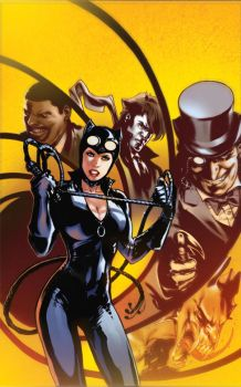 Catwoman Annual cover by manulupac