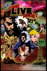 Final cover for One Live Beast book 2 by OneLiveBeast666