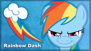Rainbow Dash Minimal by ewized