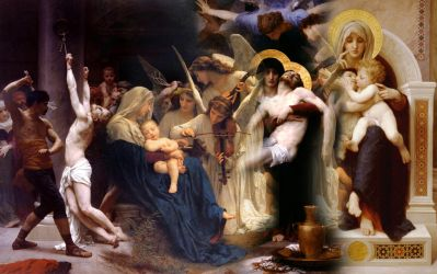 Hommage to Bouguereau by anubis