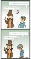 Professor Layton does it again by courtneywoods