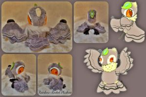 Talulla The Birdfolk Plush by The-Plushatiers