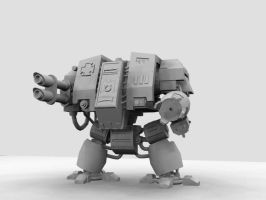 Warhammer 40k Dreadnought by S0id3