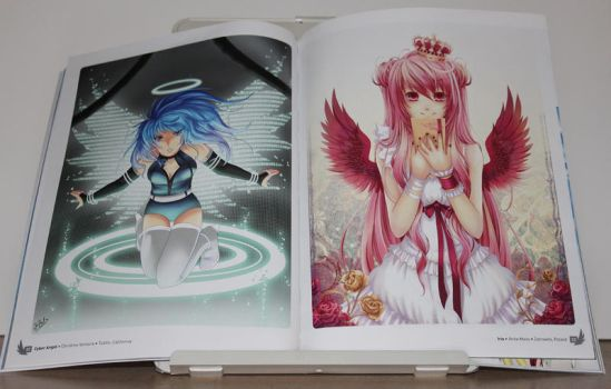 Anime Angels artbook - interior art photo #1 by animeangelsbook