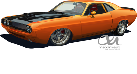 1970 Dodge Challenger by maximesz
