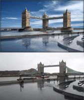 New London Bridge by Javagreeen