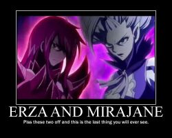 FT-MP Erza and Mira by ArcCrimsonhart