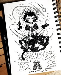 Inktober 2017 Day 19 - Cloud by celesse