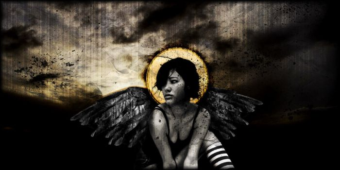 Fallen Angel by 7year
