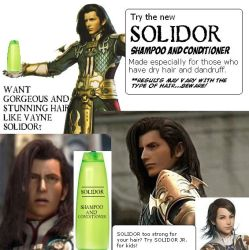 SOLIDOR Shampoo Conditioner by airbendergal