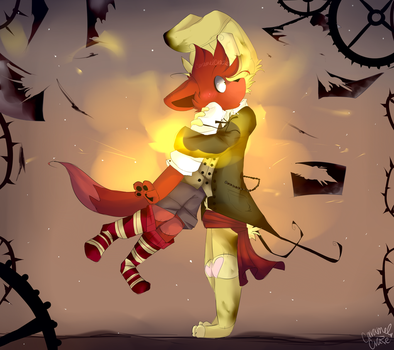 .Purgatory and the Canary Fox. by CaramelCraze