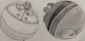 Those characters that Nepu always draws, but round by NepuOfInflation