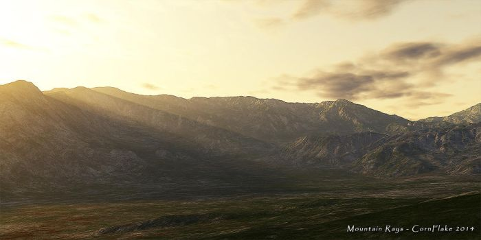 Mountain Rays by Nafe-81