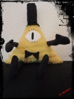 Bill Cipher Plush by 2D-Dipper