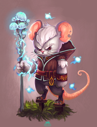 Mouse Guardian by Mallaria