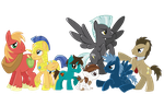 Again with the ponies by CreatoreMagico