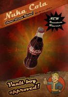 Nuka Cola old style ad by Raidas
