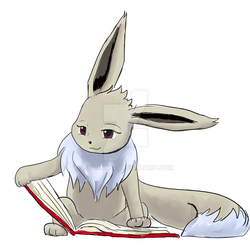 Shiny Eevee commission by evilmind2