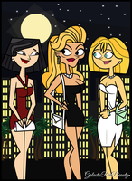 Total Drama - Mom's Night Out by Galactic-Red-Beauty