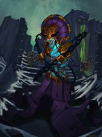 Kel THuzad by Phosphonian