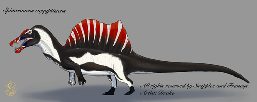 ''Obese''Spinosaurus aegyptiacus by GreatDragon10