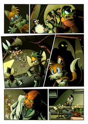 Sonic's World - The Sting Page 6 by MamboCat
