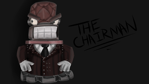 the chair-man by toontownloony