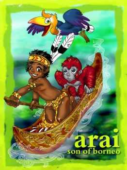 Arai - Son of Borneo by pangketepang