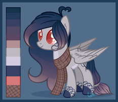 MLP OC | Commission Ref by WAIFUYum