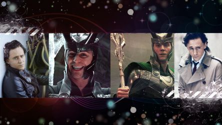 Loki/Tom Hiddleston wallpaper #1 by KuraiNight