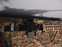 M249 SAW Top Down Profile by Wolf999679