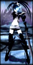 Blue Insane Black Rock Shooter by BlackRockStar123