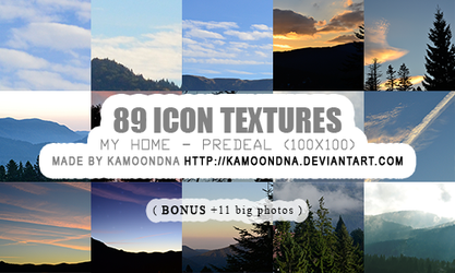 89 icon textures (my home Predeal) by KaMoonDNA
