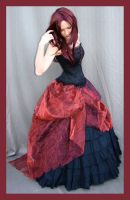 Red And Black 4 by Lisajen-stock