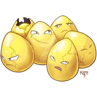 Type Collab Grass - Shiny Exeggcute