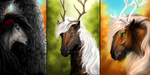 Three seasons by Myval-miki