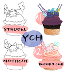 CHEAP Scoop YCH . open