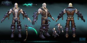 Necromancer Xul  base skin Final by FirstKeeper