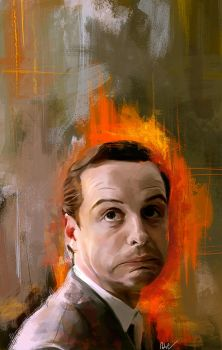 Jim Moriarty by WisesnailArt