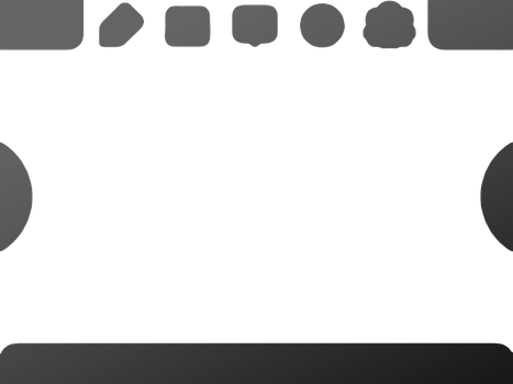 Nintendo 3DS Bottom Screen Template by Tuiridh